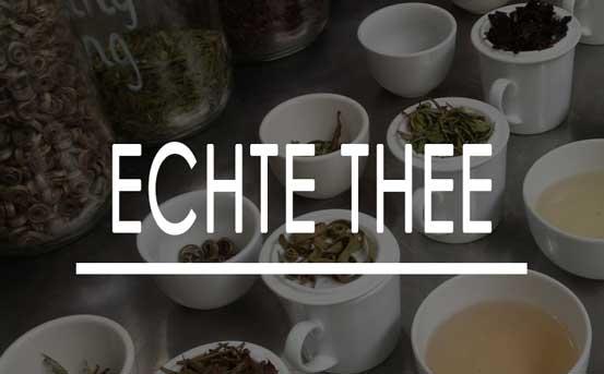 Het is tijd voor echte thee