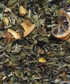 white tea fresh lemon